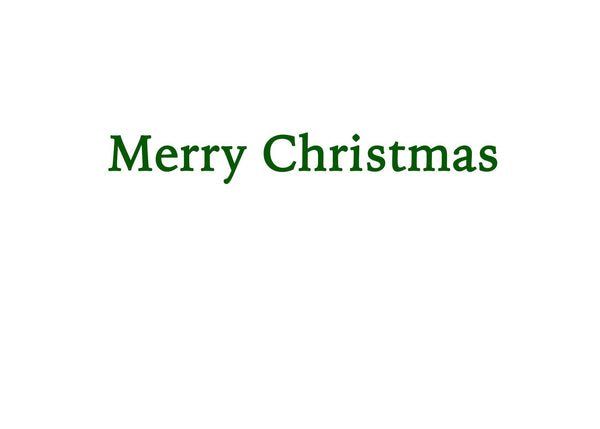 Christmas Pride Forest Greeting Card (inside text) | Polycute Gift Shop