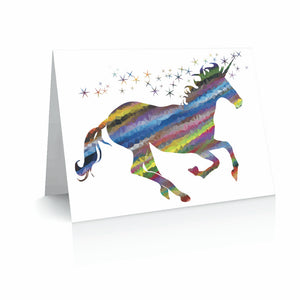 Unicorn Love Greetinng Card | Polycute Gift Shop