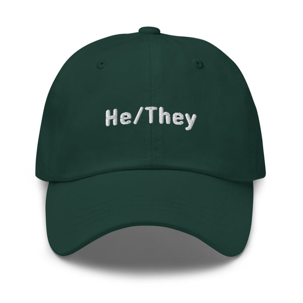 He/They Pronoun Hat