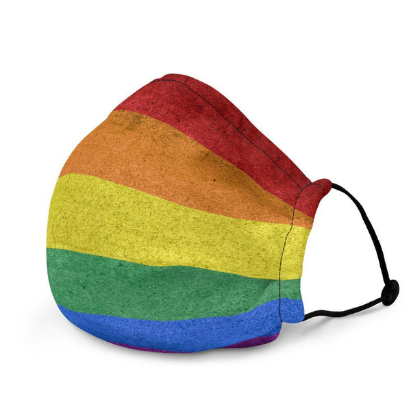 Pride Face Mask - Polycute LGBTQ+ and Polyamory Gift Shop