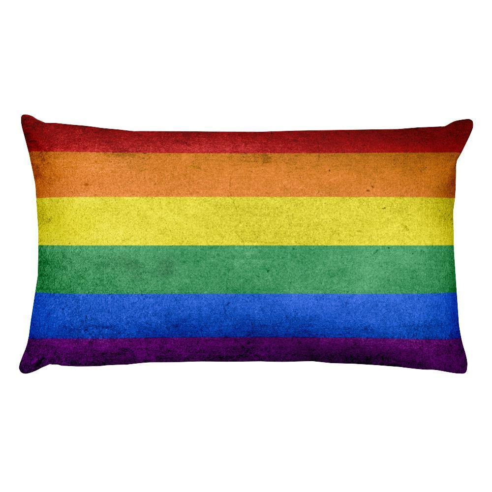 LGBT Pride Flag Throw Pillow | Polycute Gifts