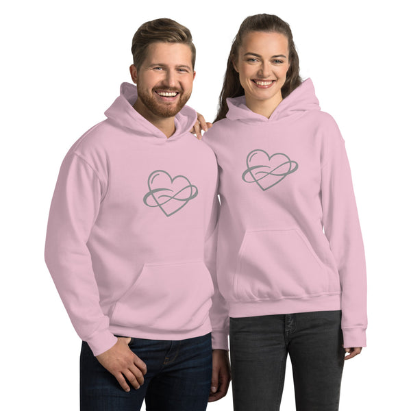 Infinite Love Hoodie Light Pink | Polycute Gift Shop