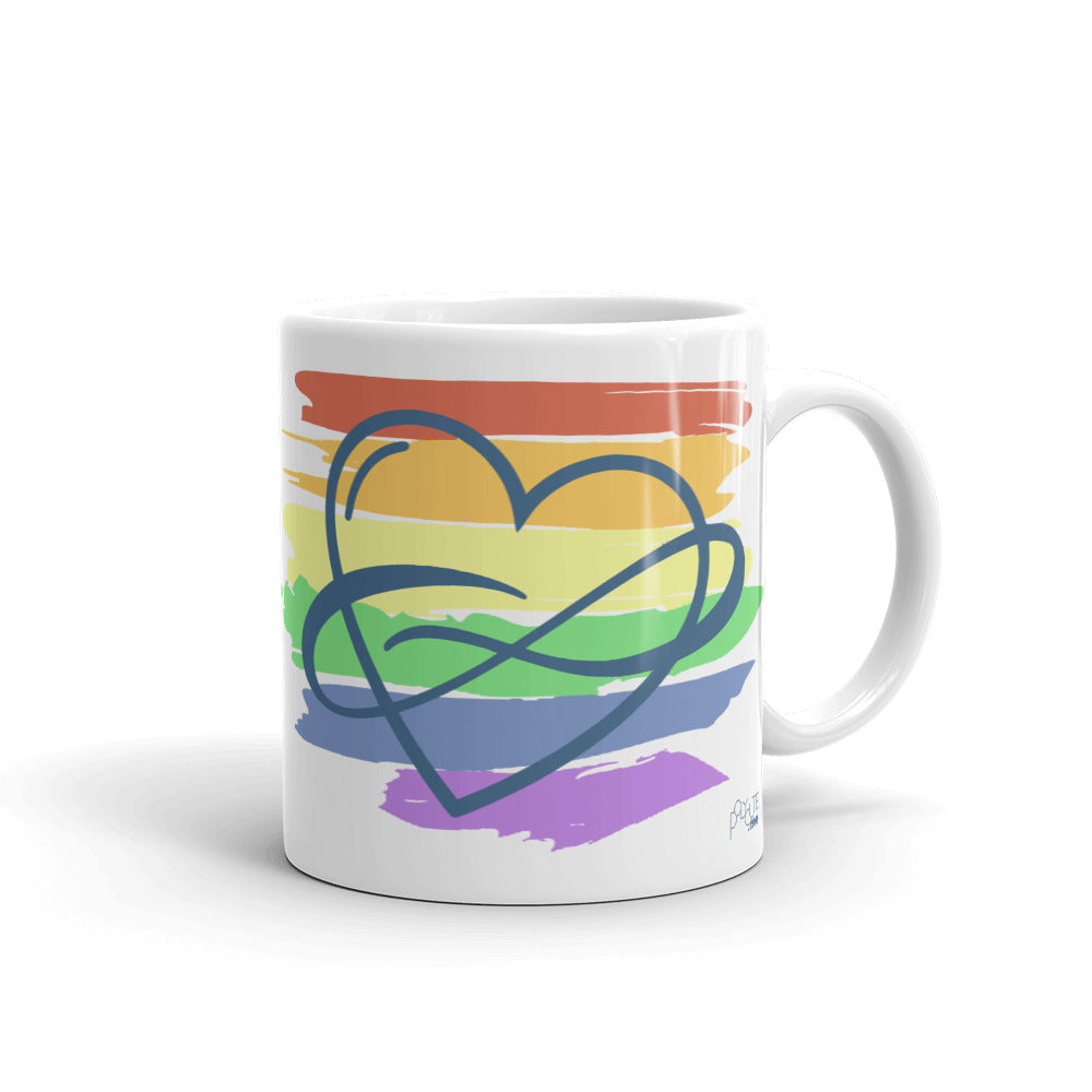 Polycute Mug | LGBTQ and Polyamory Gifts | Polycute Gift Shop