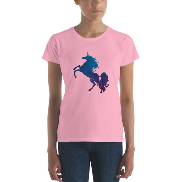Unicorn Stardust Tee, Fitted