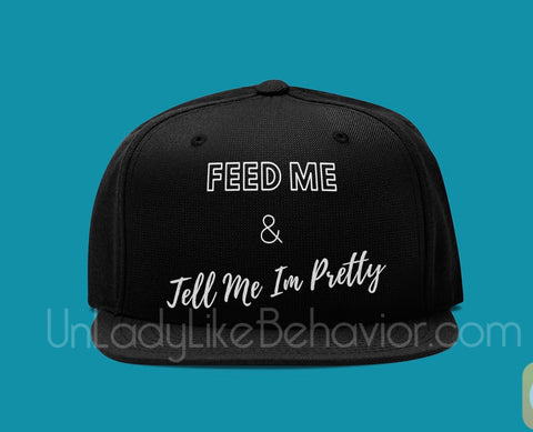 """Feed Me"" Dad Hat"