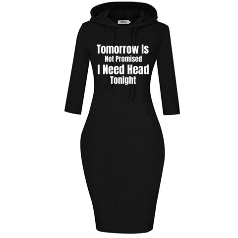 """Tonight"" Hoodie Dress"