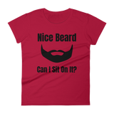 """Nice Beard"" short sleeve t-shirt"