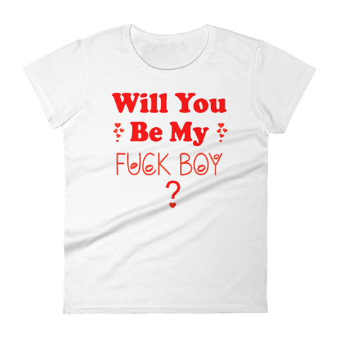 """Be Mine"" Women's short sleeve Valentine t-shirt"