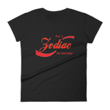 """Zodiac"" Women's t-shirt (PUT ZODIAC SIGN IN THE CUSTOMER NOTES)"