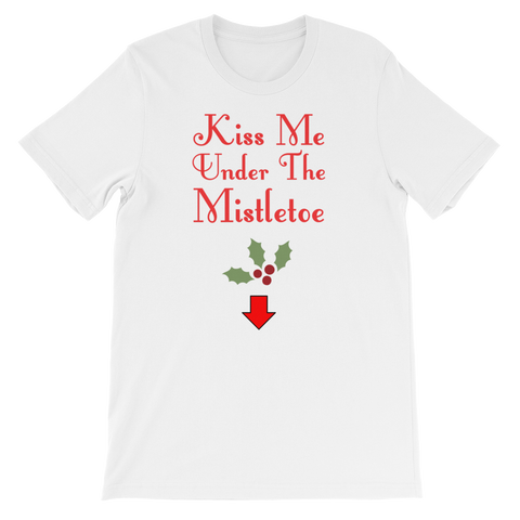 """Mistletoe"" Short-Sleeve Unisex T-Shirt"