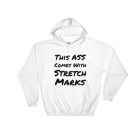 """Stretch Marks"" Hooded Sweatshirt"