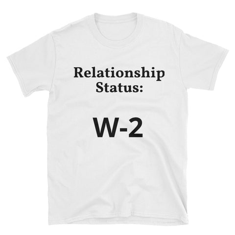 """W-2"" Short-Sleeve Unisex T-Shirt"