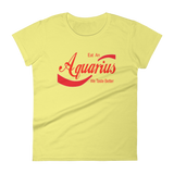 """Aquarius"" Women's short sleeve t-shirt"