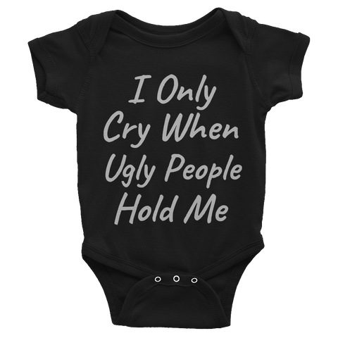 """Crybaby"" Infant Bodysuit"