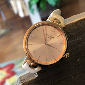 Kate Spade Rose Gold/Tan Watch