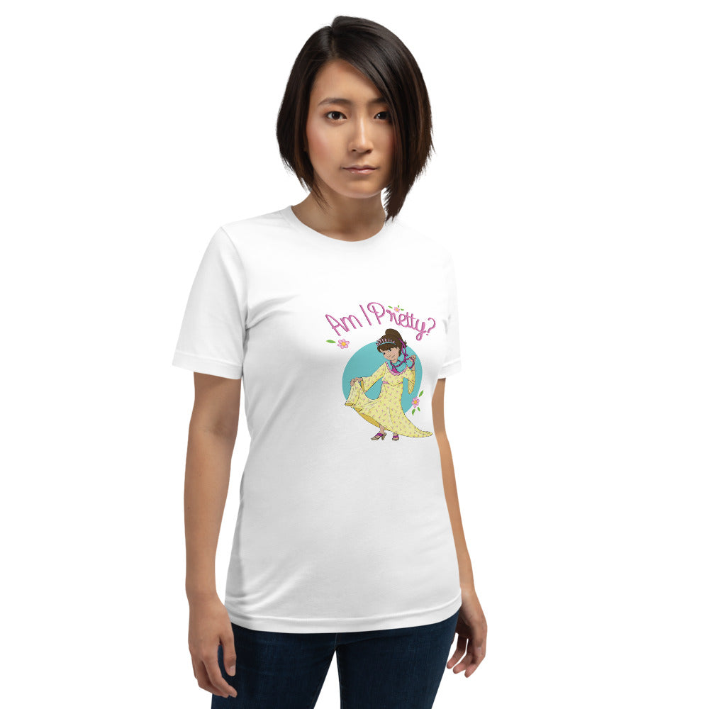 Am I Pretty? Short-Sleeve Unisex T-Shirt