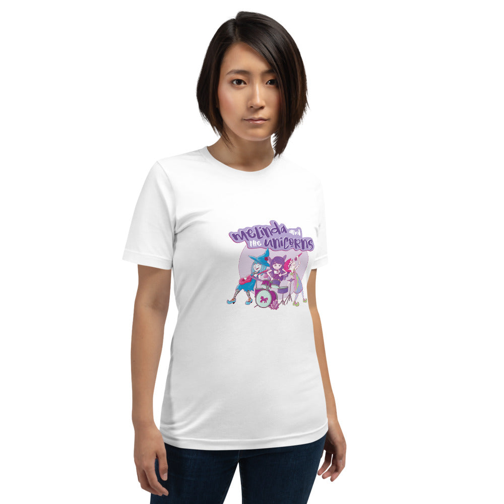 Melinda and the Unicorns Short-Sleeve Unisex T-Shirt