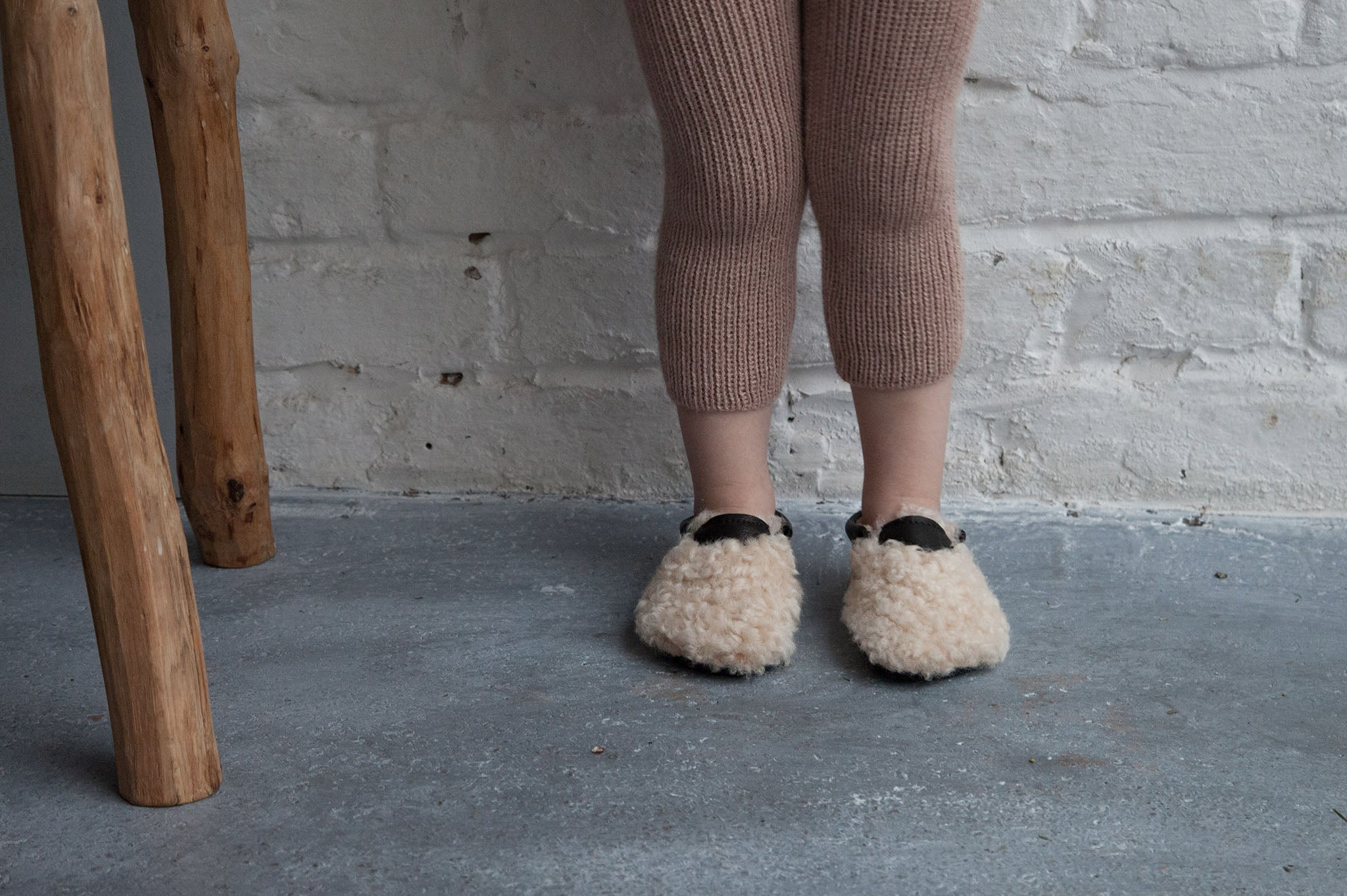 amy and ivor yeti moccasins vegetable tanned eco natural leather and sheepskin handmade uk