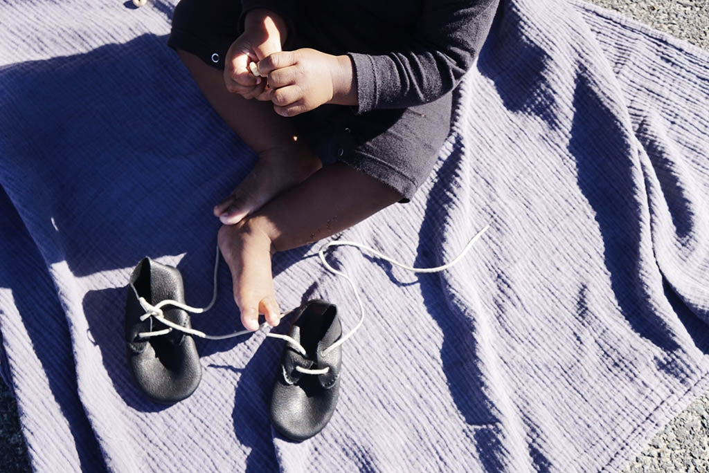 Amy and Ivor black eco leather lace up shoes Charisse Goings growing up goings blog