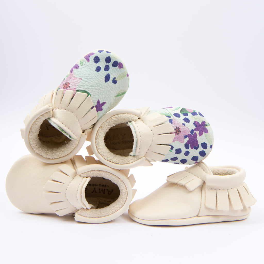 Amy and Ivor moccasins awarded the best baby shoes and first walkers Junior Design Awards 2018