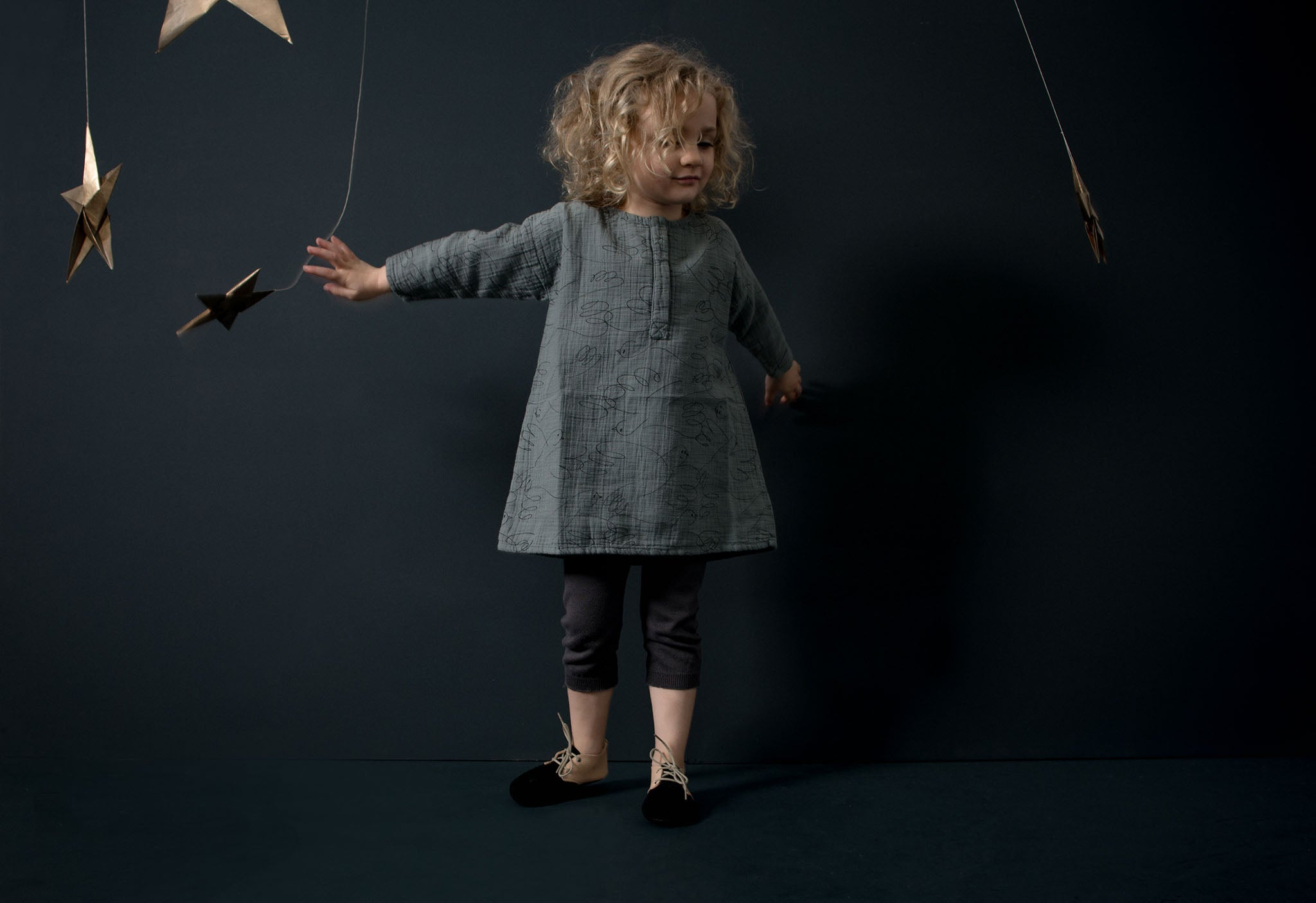 Soft eco natural leather handmade childrens shoes and slippers. Exclusives by Amy & Ivor for Cissywears at Liberty London.