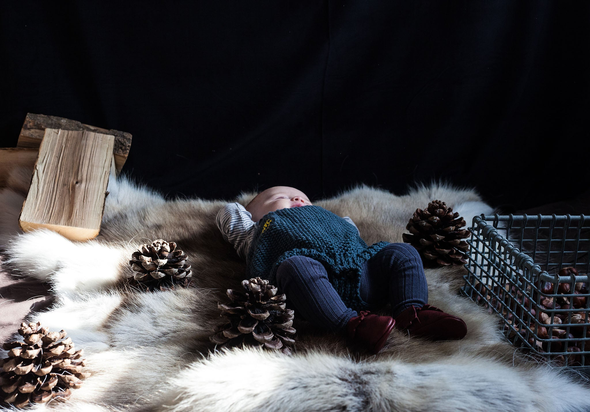 Amy & Ivor baby moccasins by takeapicturelady
