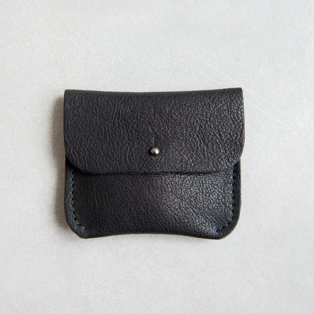 PERSONALISED BLACK COIN/CARD PURSE - STOCK SALE