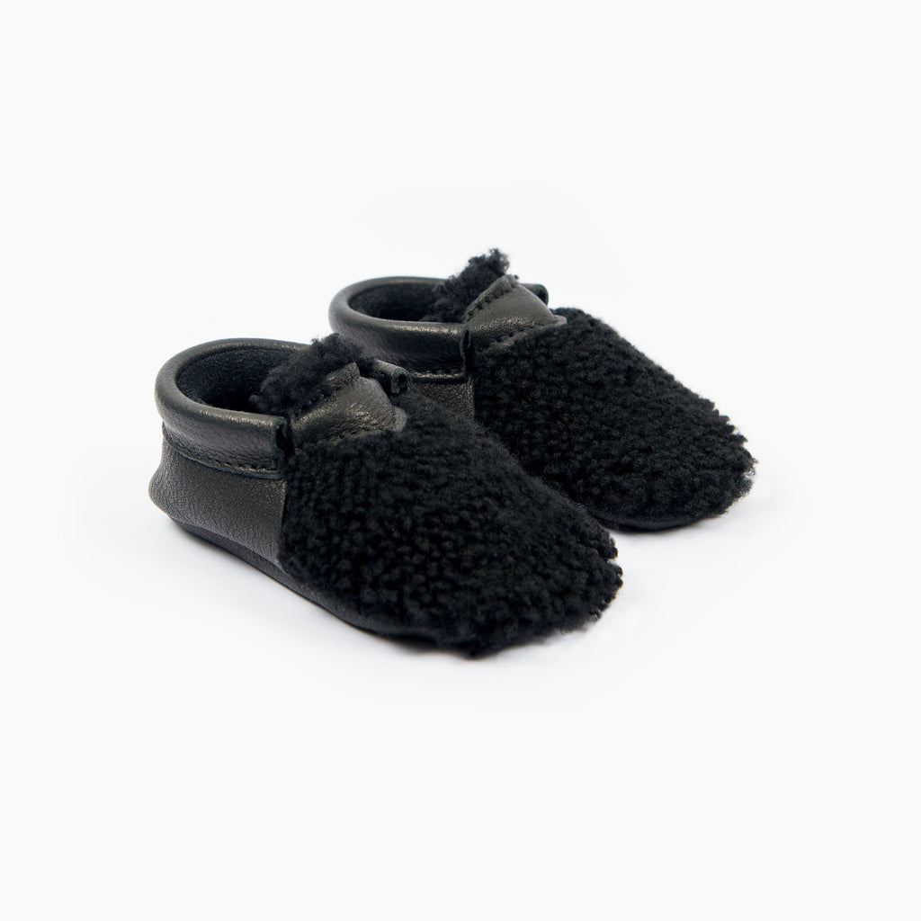 BLACK YETI MOCCASINS STOCK SALE - VARIOUS SIZES