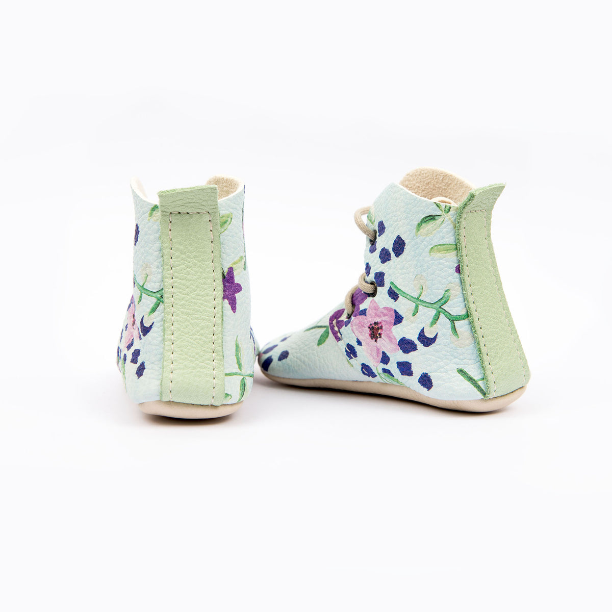 BLUE FLOWER HIGH TOPS