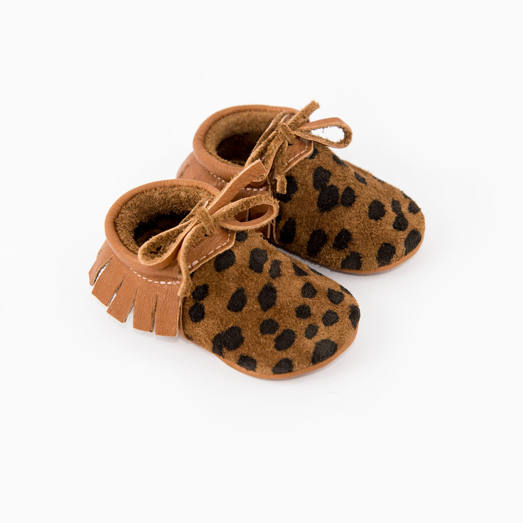 CHEETAH MOCCASINS STOCK SALE - VARIOUS SIZES