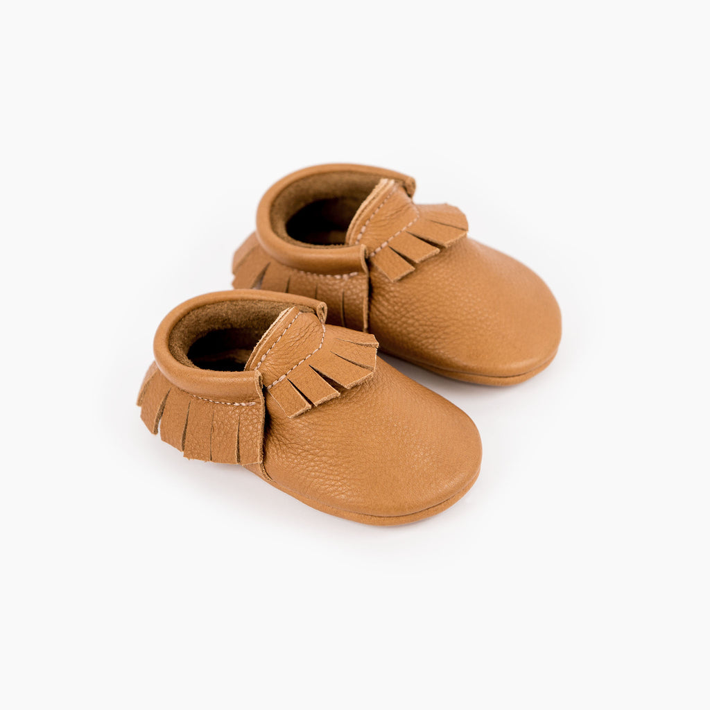 CINNAMON MOCCASINS STOCK SALE - VARIOUS SIZES
