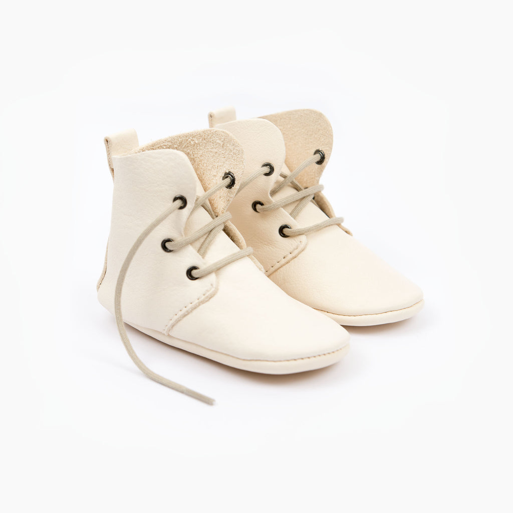 CREAM HIGH TOPS