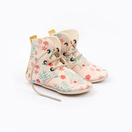 PINK FLORAL HIGH TOPS