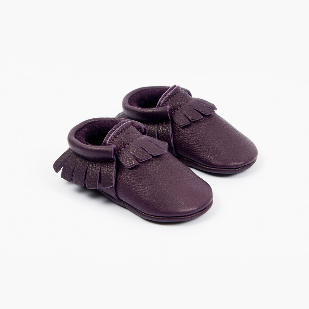PURPLE MOCCASINS STOCK SALE - VARIOUS SIZES