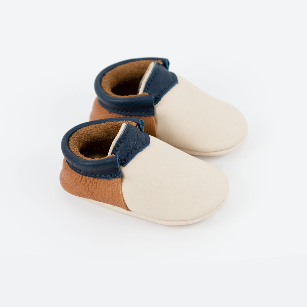 PUTTY/CINNAMON/INK URBAN MOCCASINS STOCK SALE - VARIOUS SIZES