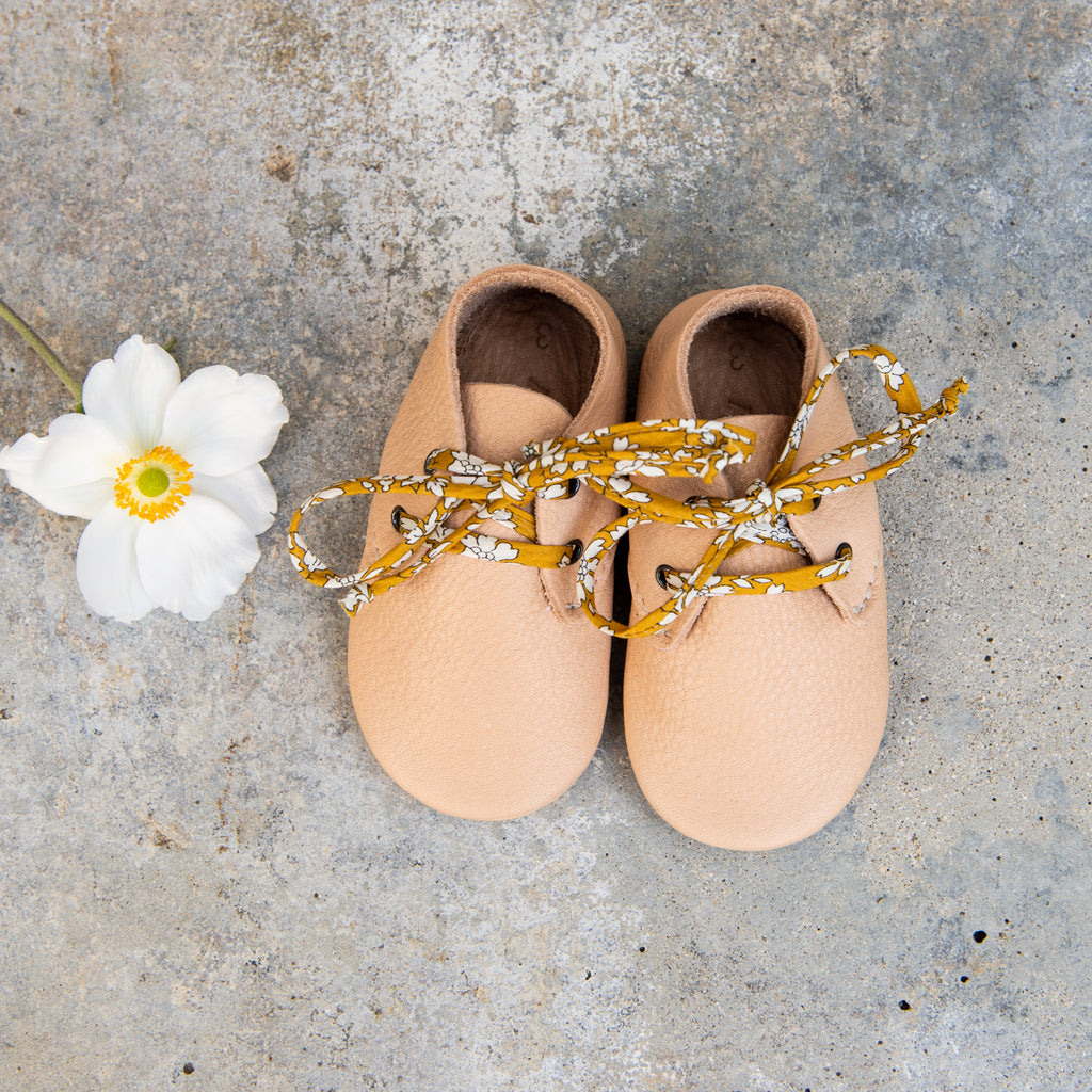 NATURAL TRAVELLERS STOCK SALE - LIBERTY LACE OPTIONS - SIZE 3 (9-12mths)