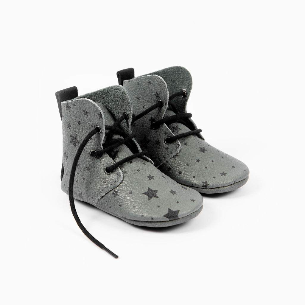 LIMITED EDITION - SLATE STAR PRINT HIGH TOPS