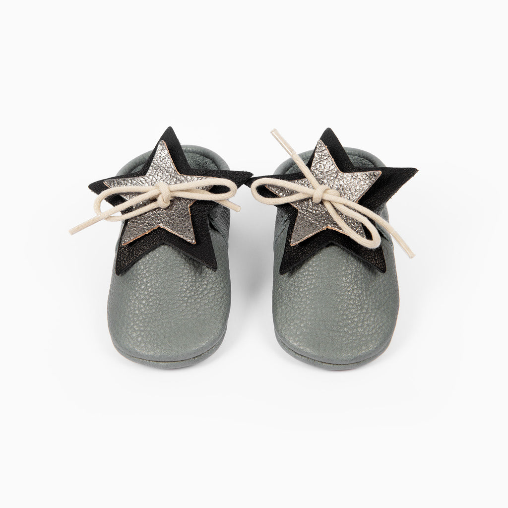 LIMITED EDITION - SLATE STAR SHAPE MOCCASINS