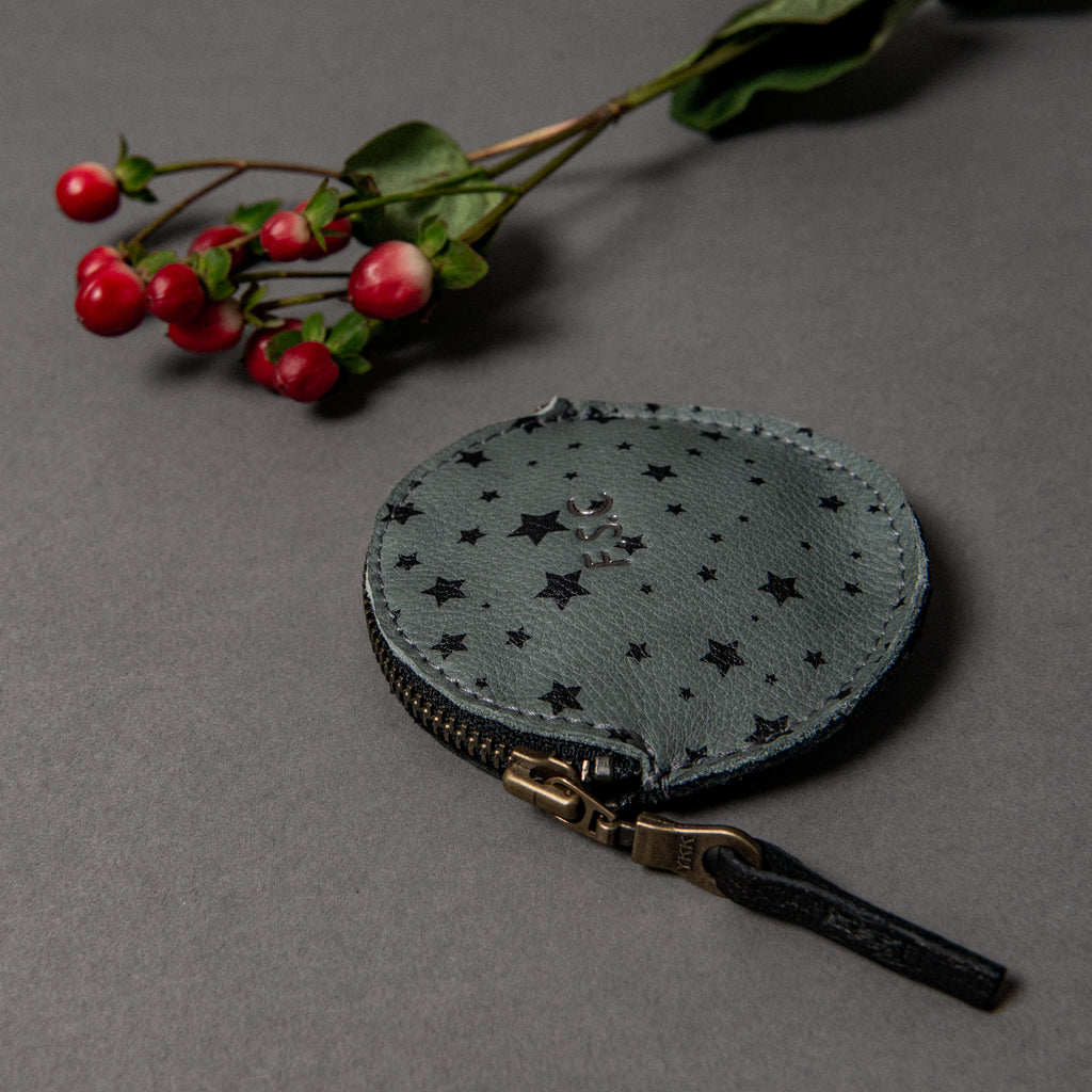 LIMITED EDITION - SLATE STARS ROUND COIN PURSE