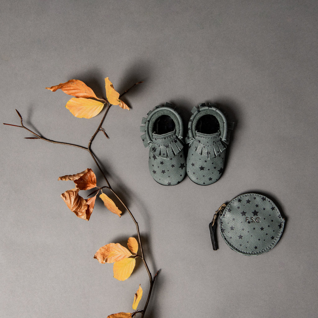 LIMITED EDITION - SLATE STAR MOCCASINS