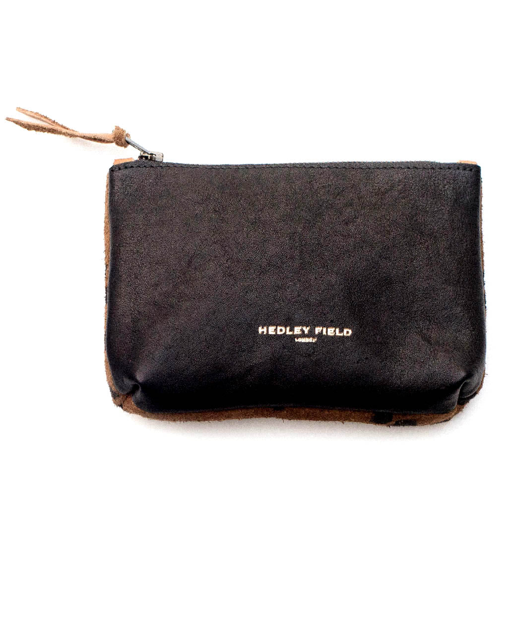 BLACK CHEETAH CONTRAST POUCH - Hedley Field