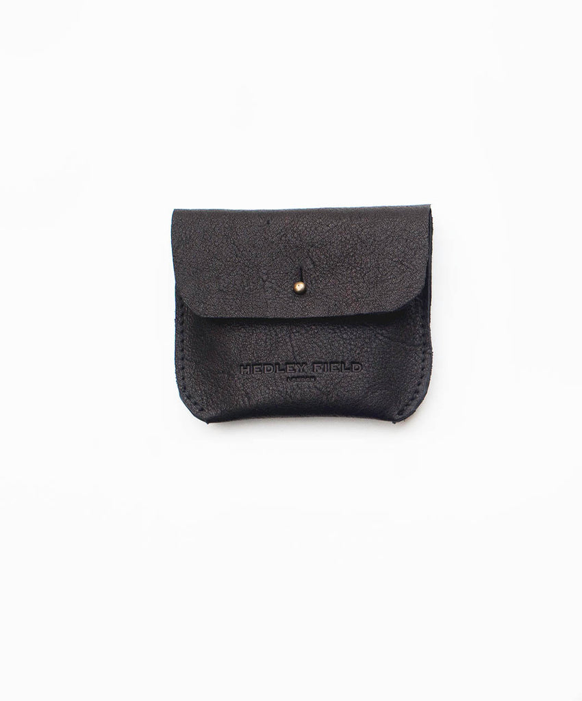 BLACK COIN/CARD PURSE - Hedley Field