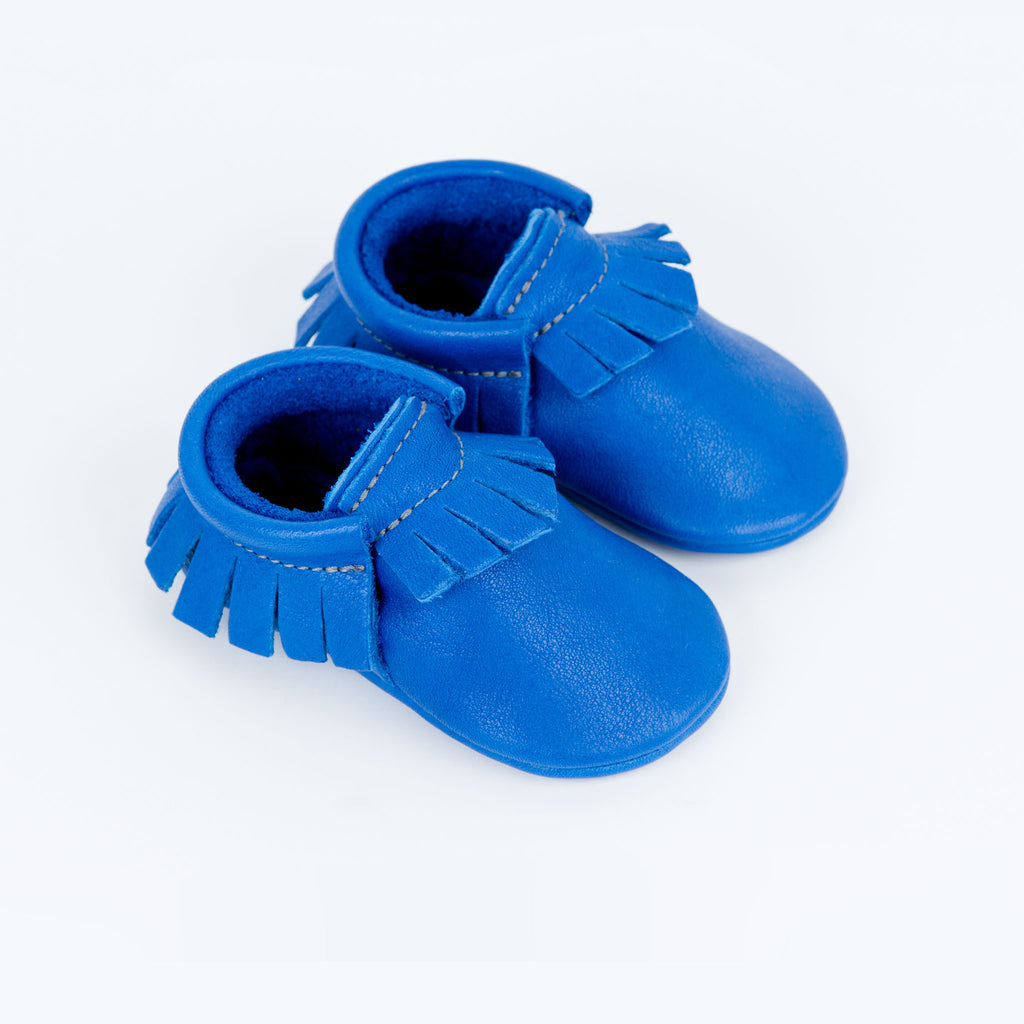 COLBALT MOCCASINS STOCK SALE - VARIOUS SIZES