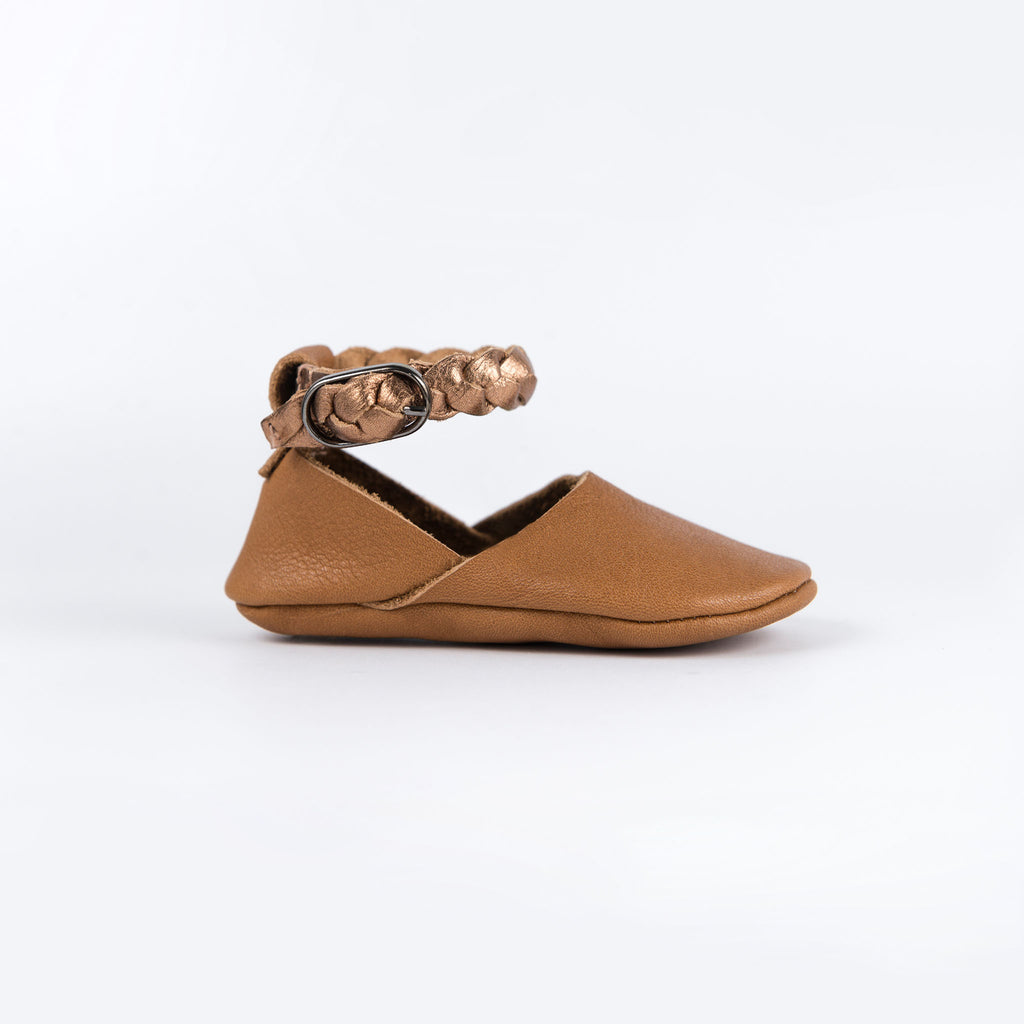 CINNAMON/ROSE GOLD ERIN SHOES STOCK SALE - VARIOUS SIZES