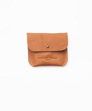 TAN COIN/CARD PURSE - Hedley Field