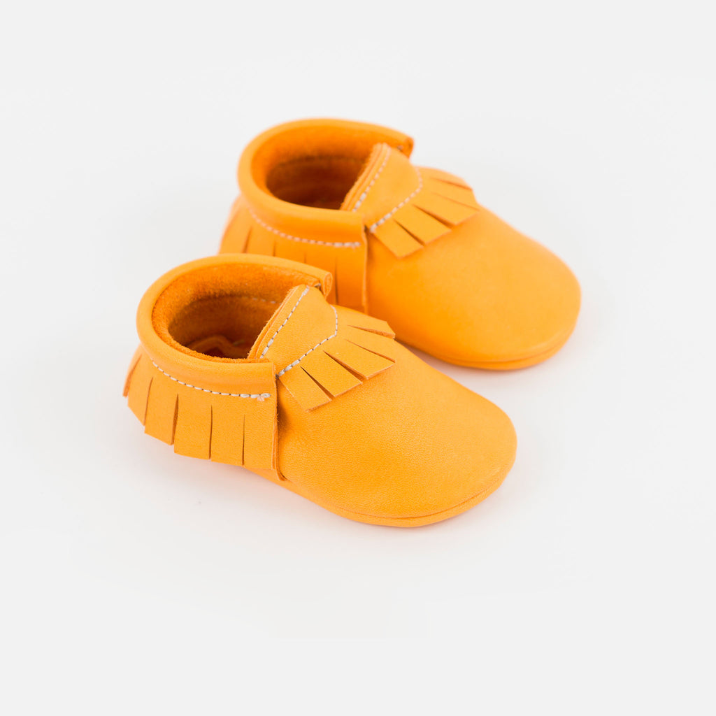 TANGERINE MOCCASINS STOCK SALE - VARIOUS SIZES