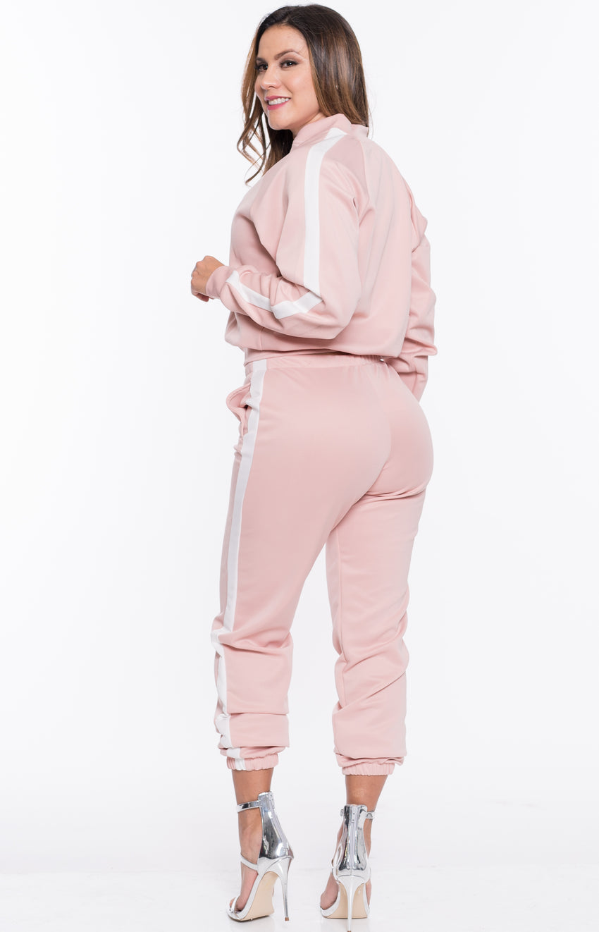 Track Pants Pink