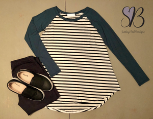 Stripes for Days Tunic