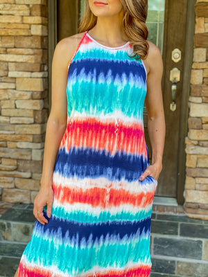 I Would Tie Dye For You Maxi Dress