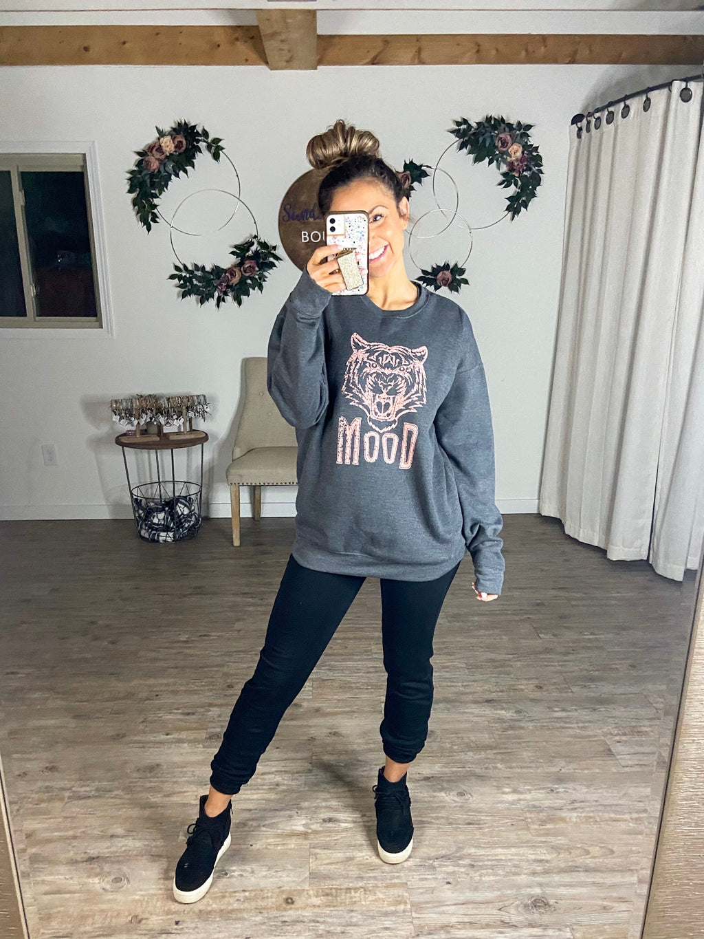 Tiger Mood Sweatshirt